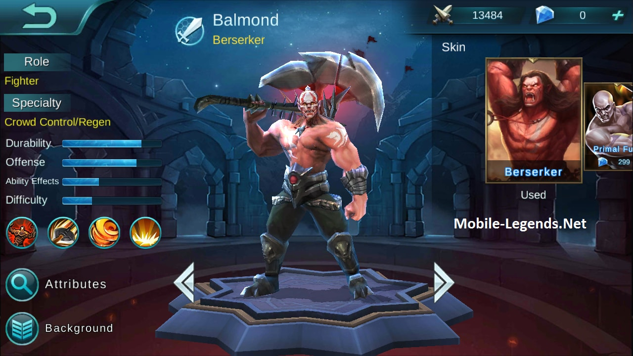 Build Item Balmond Mobile Legends