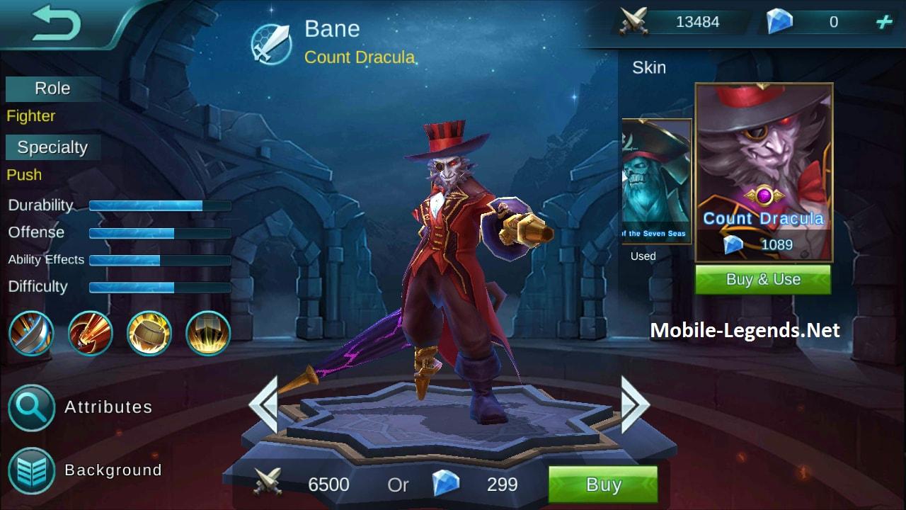 Bane Features | Mobile Legends