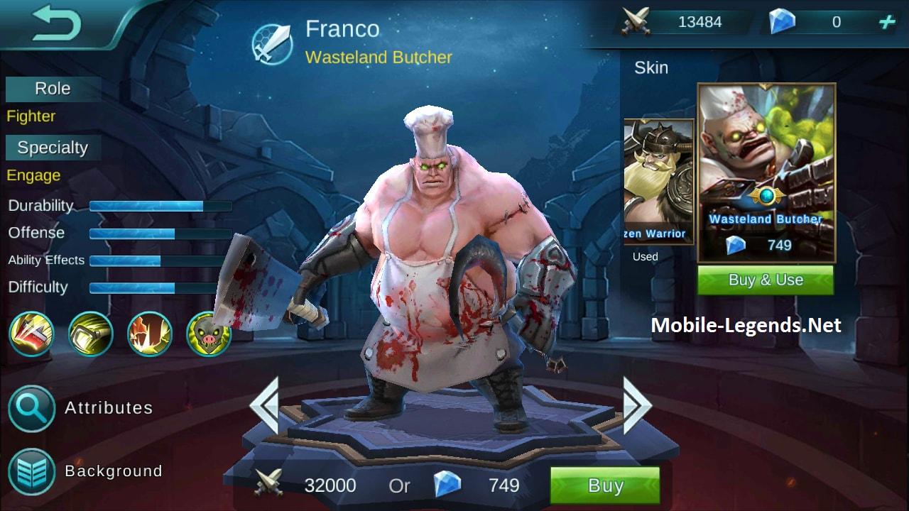 Franco Features 2020 Mobile Legends