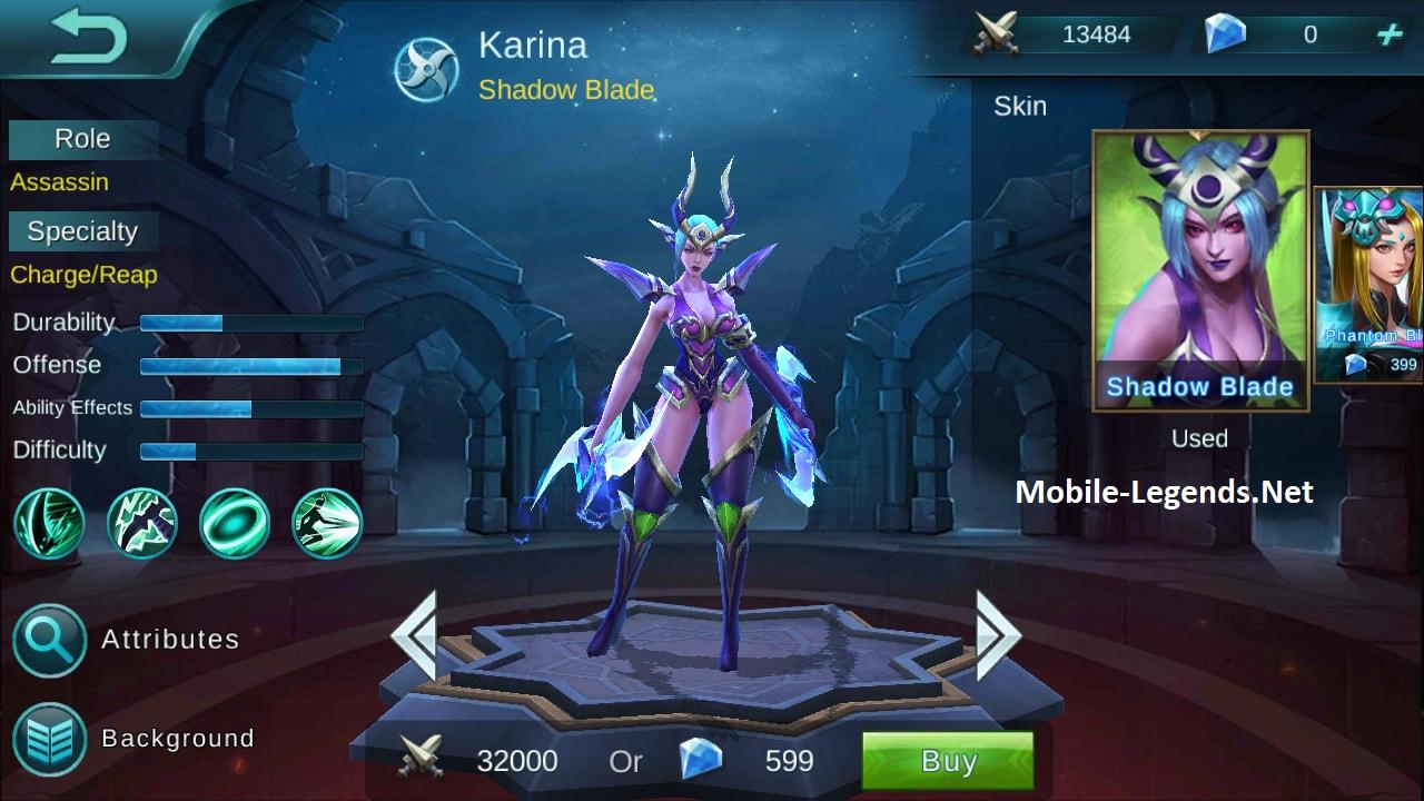 Karina (Mobile Legends) Minecraft - 178.4KB
