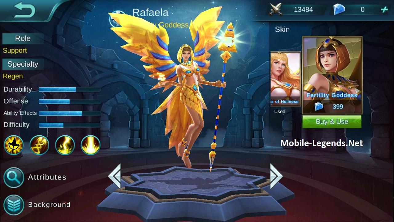 600 Gambar Hero Mobile Legend Rafaela Gratis Terbaik