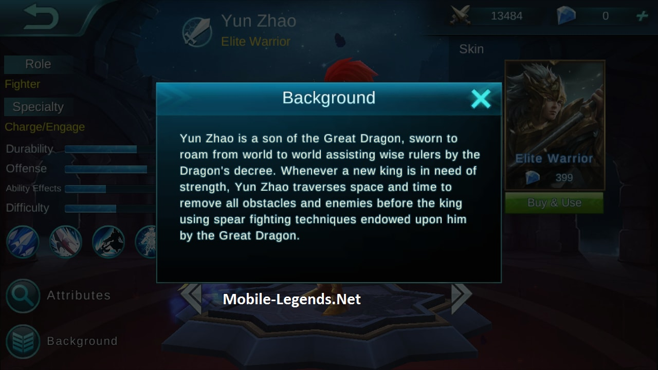 mobile-legends-yun-zhao-story