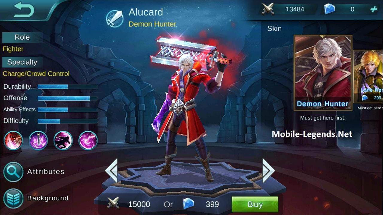 Mobile Legend Alucard Vs Argus