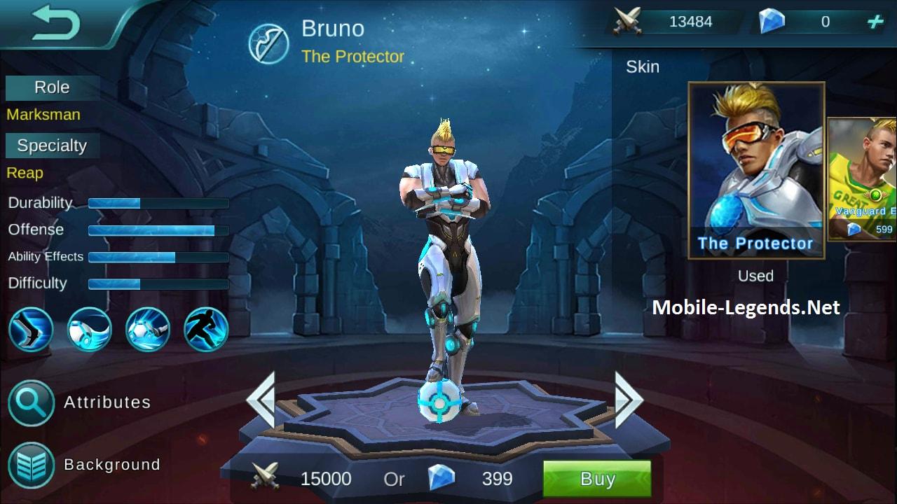 Bruno AD-Tanky Build 2018