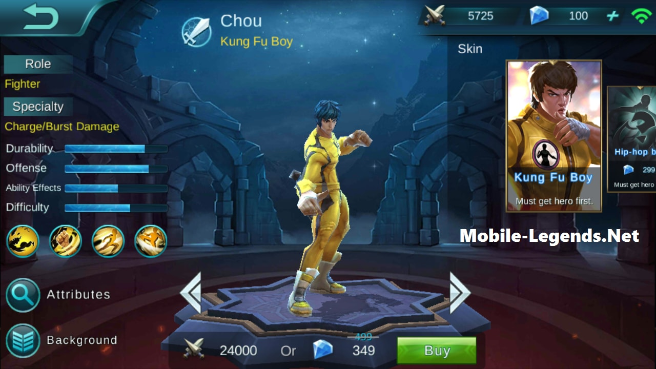 chou ad tanky build 2018 mobile legends