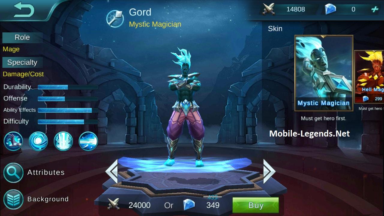 Gord Features | Mobile Legends - 171.2KB