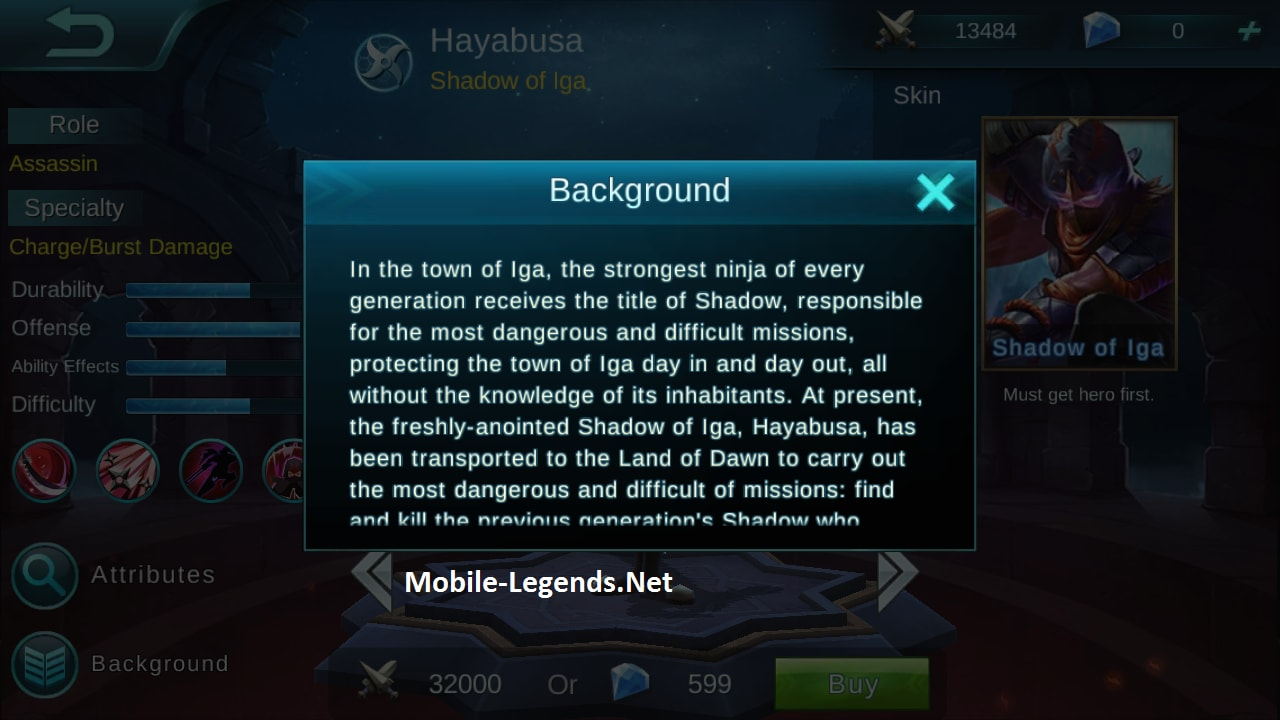 mobile-legends-hayabusa-story