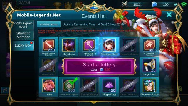 Event Calendar Mobile Legend : Lucky box events hall mobile legends