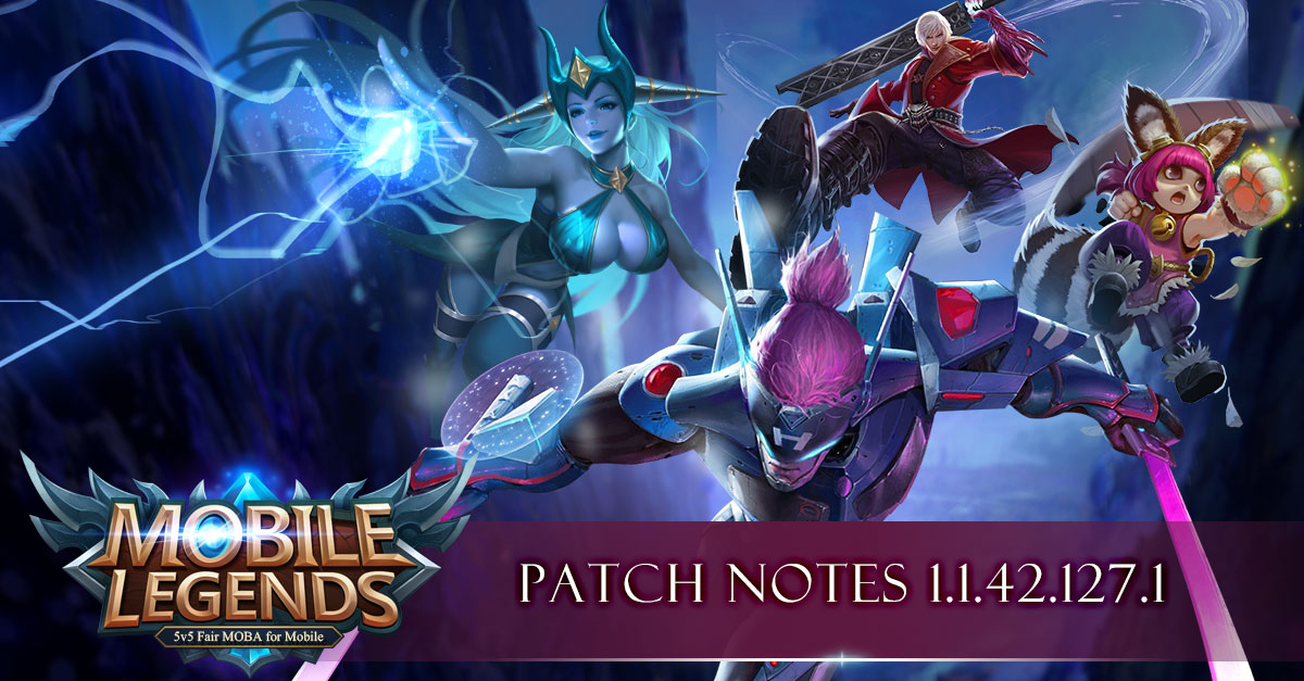 New Hero Natalia Patch Notes 1 1 42 1271 2019 Mobile Legends