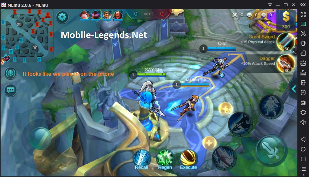 Play on PC, Mobile Legends - 5 Steps | Mobile Legends