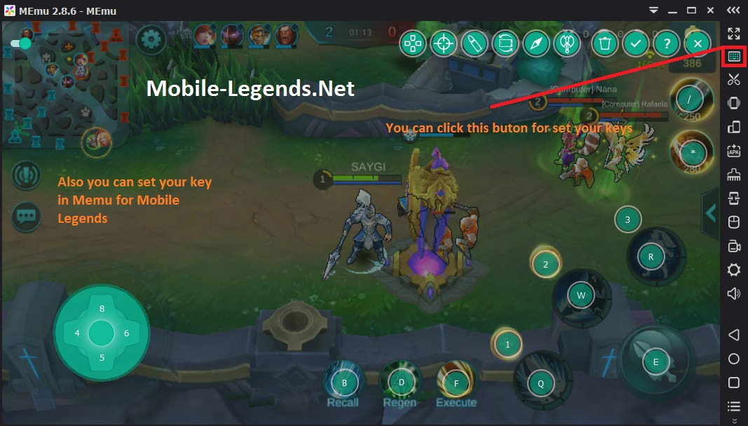 Image Result For Mobile Legends Vs