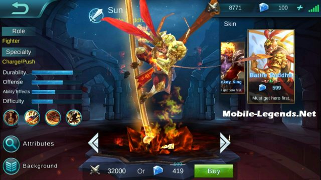 Sun Attack Tank Build 2018 Mobile Legends