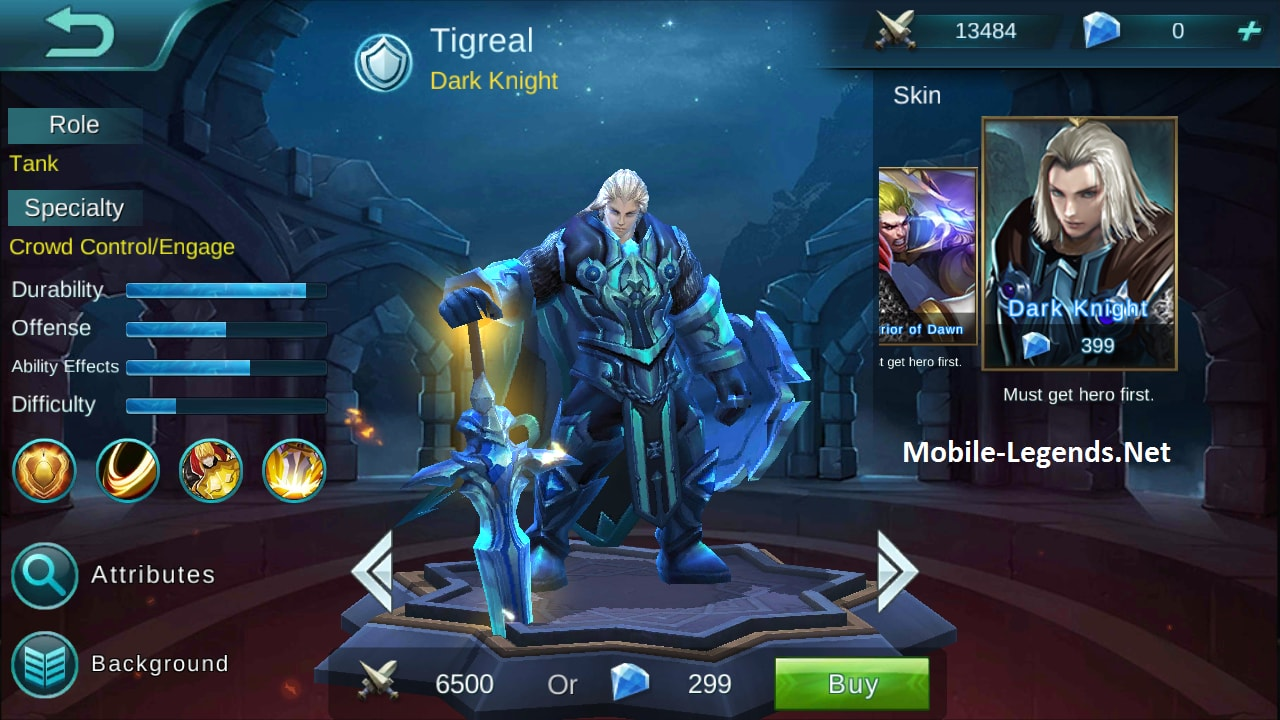 tigreal high ad build 2018 mobile legends