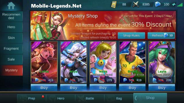 Event Calendar Mobile Legend : Mystery shop mobile legends