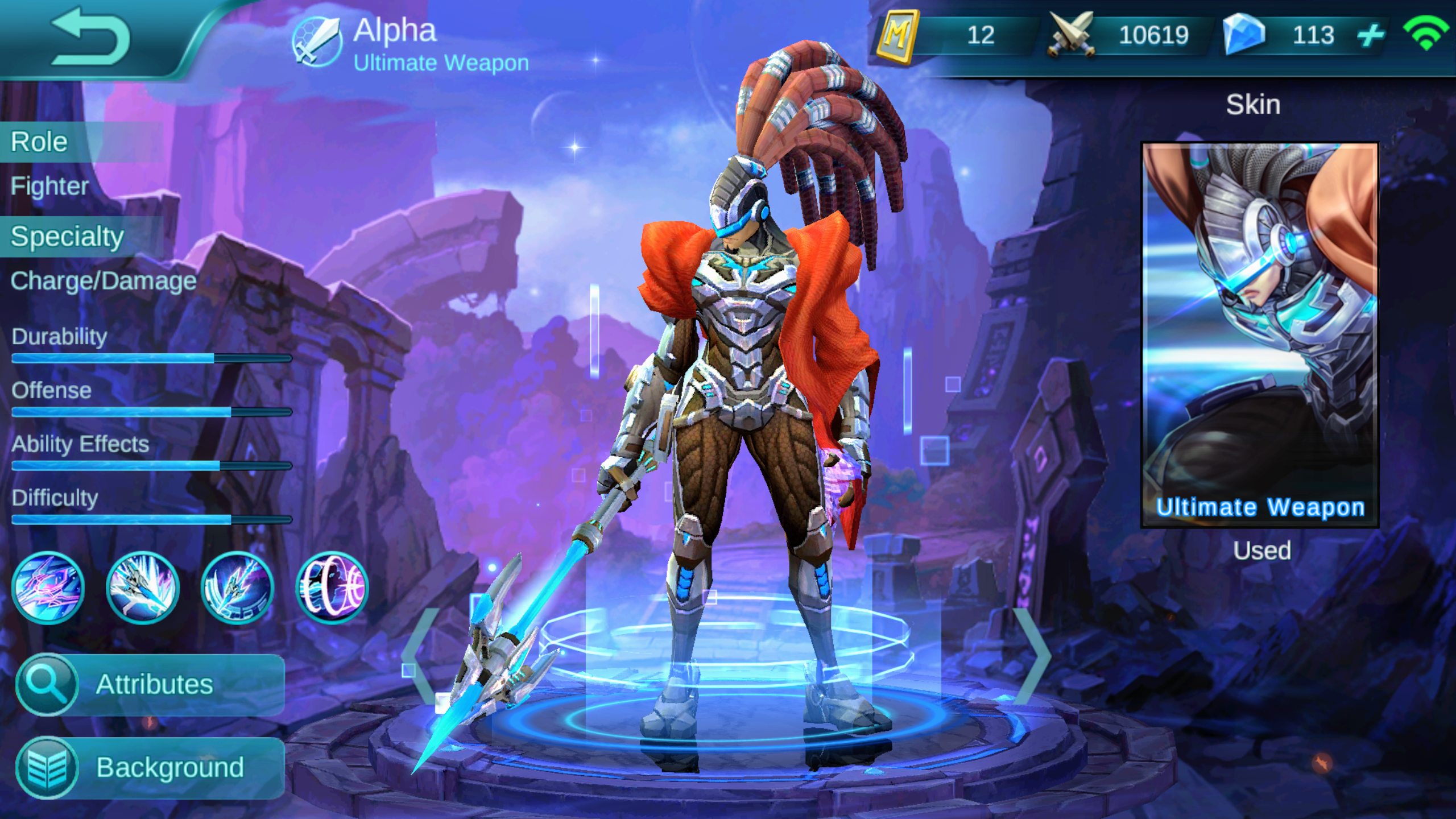 Alpha: Hero Reveal - The Ultimate Weapon | Mobile Legends