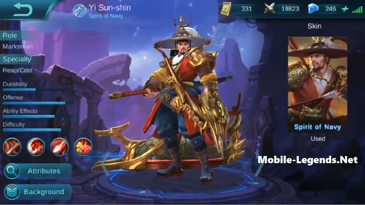 Mobile-Legends-Yi-Sun-shin-damage-build