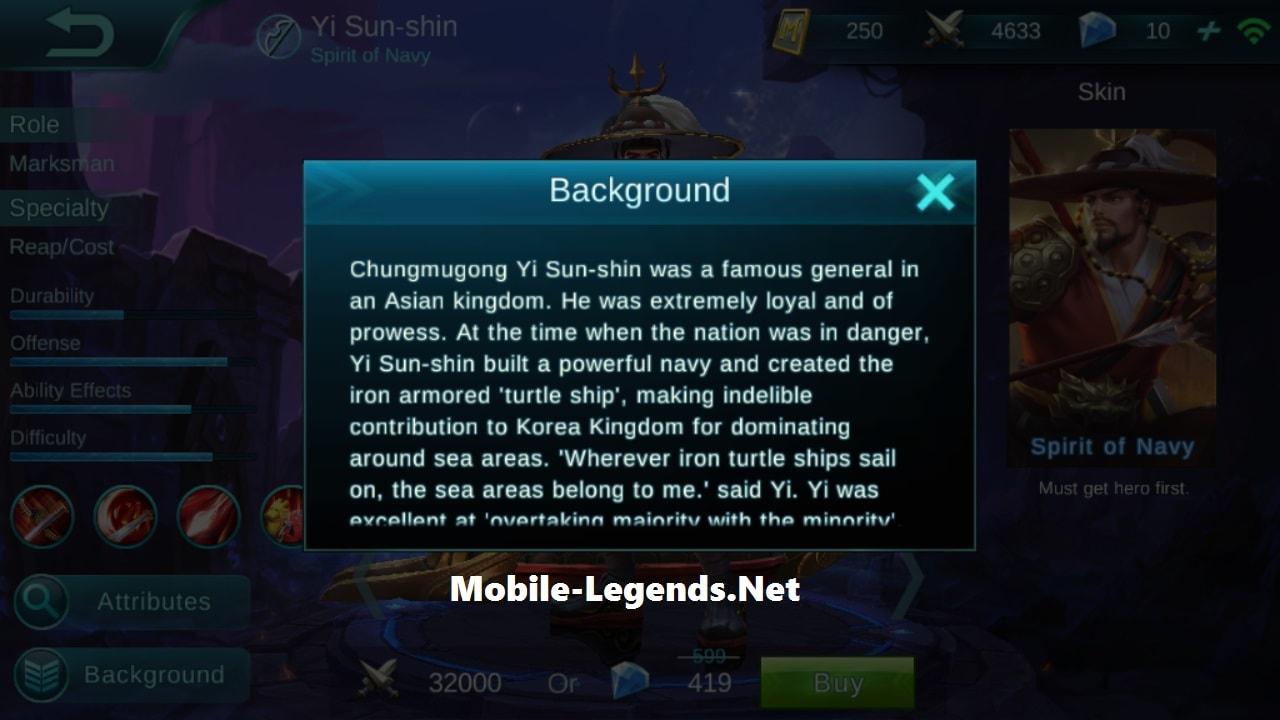 Mobile-Legends-Yi-Sun-shin-Story