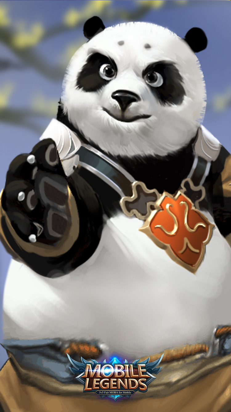 Hd wallpaper mobile legends - Mobile Legends Akai Panda Warrior