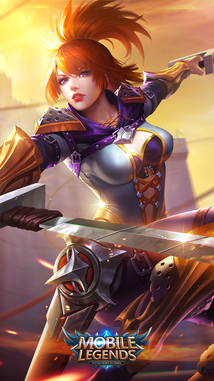 Hd wallpaper mobile legends - Mobile Legends Fanny Hovering Blade