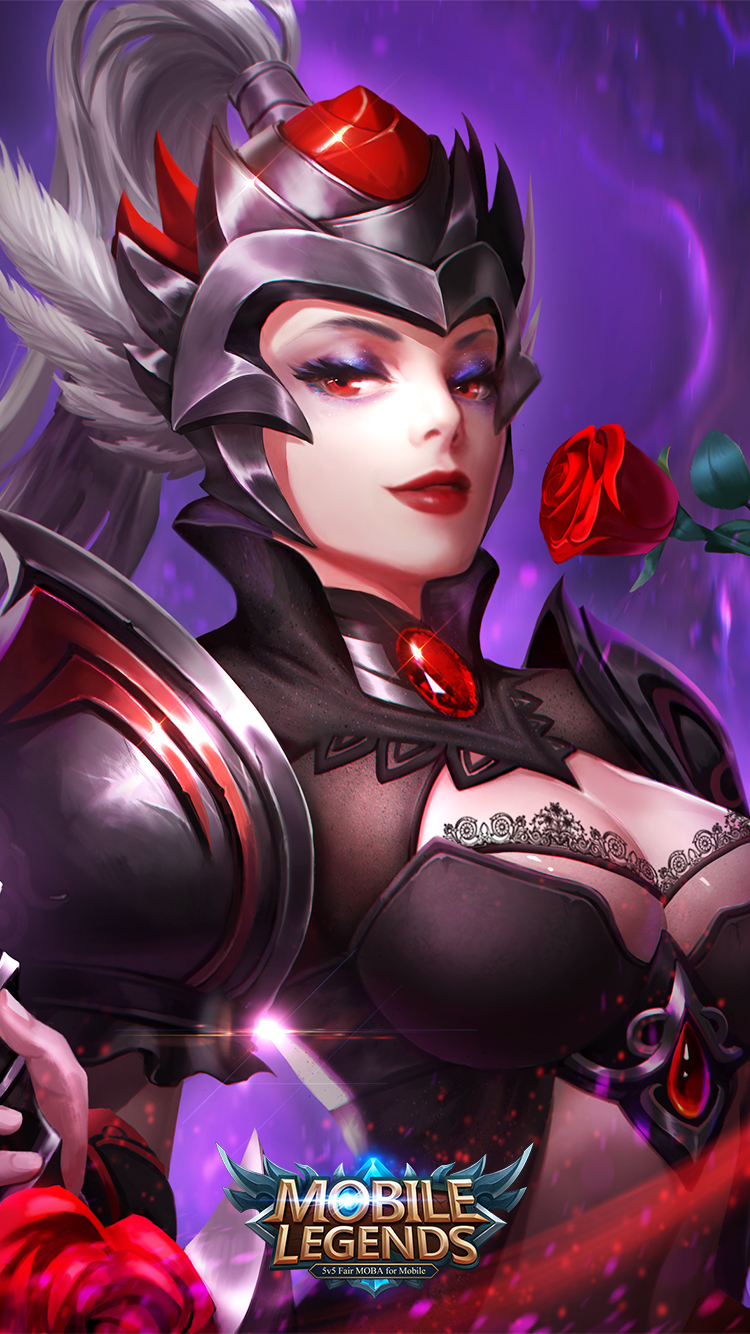 Mobile-Legends-Freya-Dark-Rose