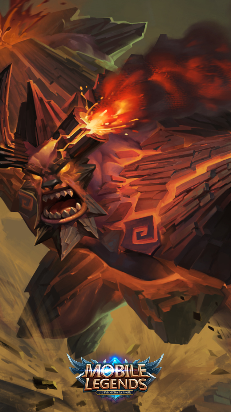 Minotaur Wallpapers. Mobile Legends Minotaur Bursting Yama