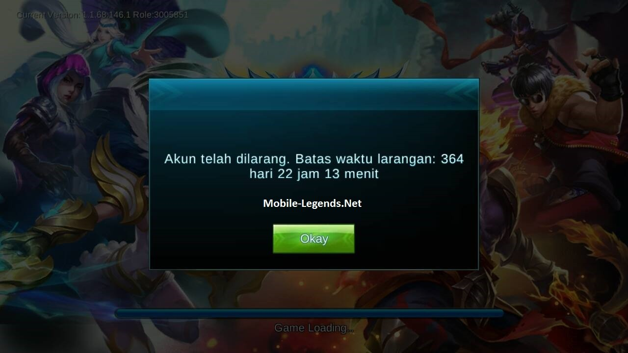 Why am I Banned? 2019 - Mobile Legends