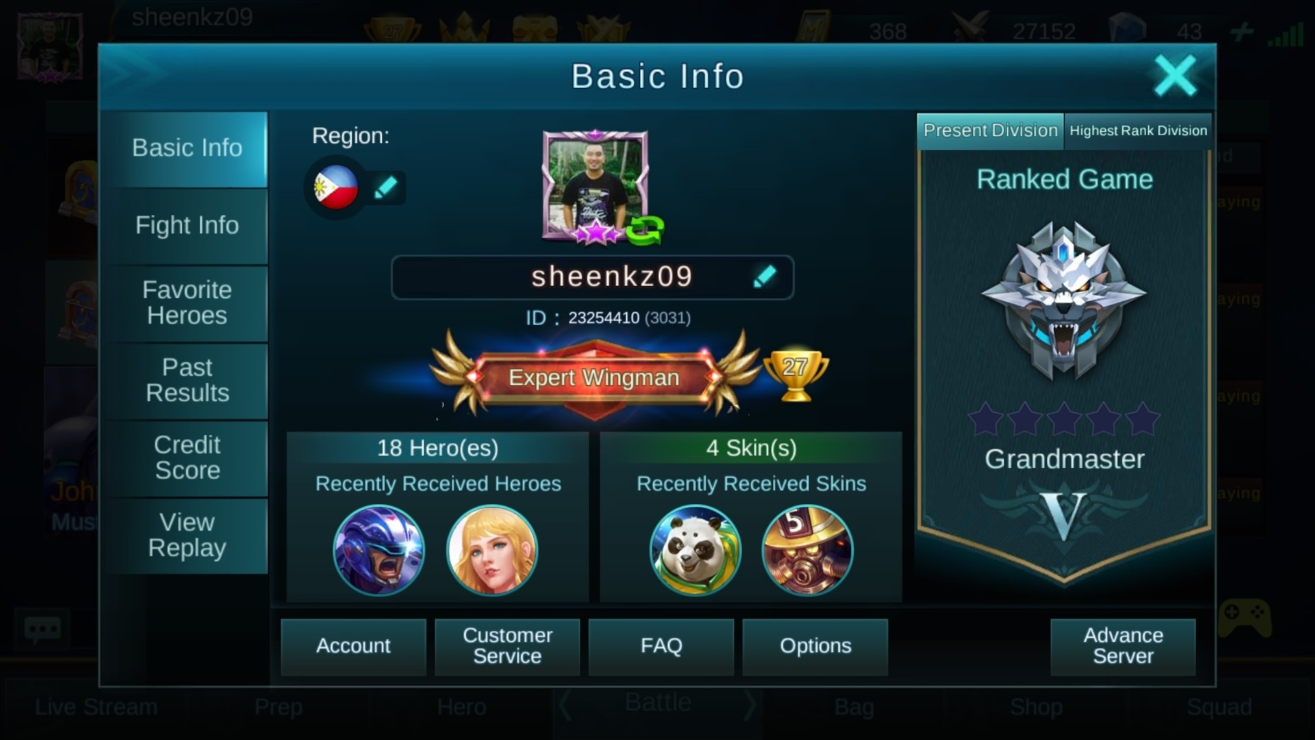 Mobile-Legends-Player-sheenkz09
