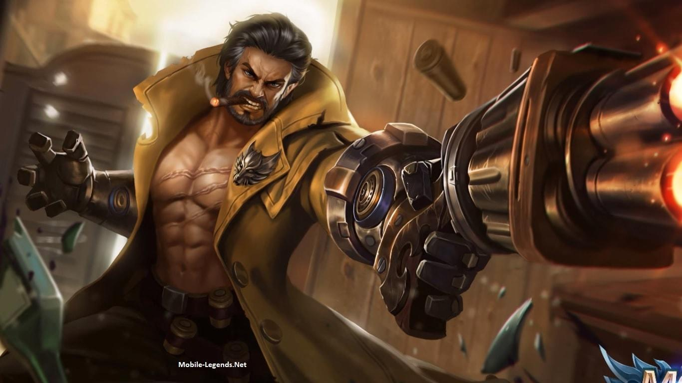 New Hero, Wolf Hunter  Roger! 2018  Mobile Legends