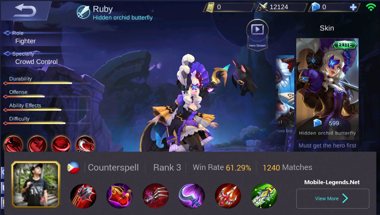 Ruby High Damage New Pro Build