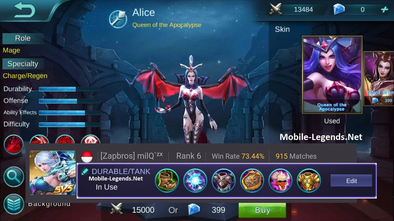 Mobile-Legends-Alice-Durable-Tank-Items