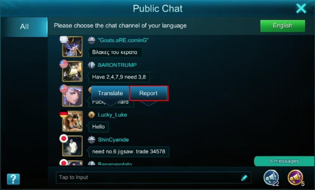 Mobile chat room without registration