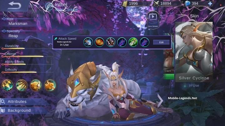 Mobile-Legends-Irithel-Attack-Speed-Items