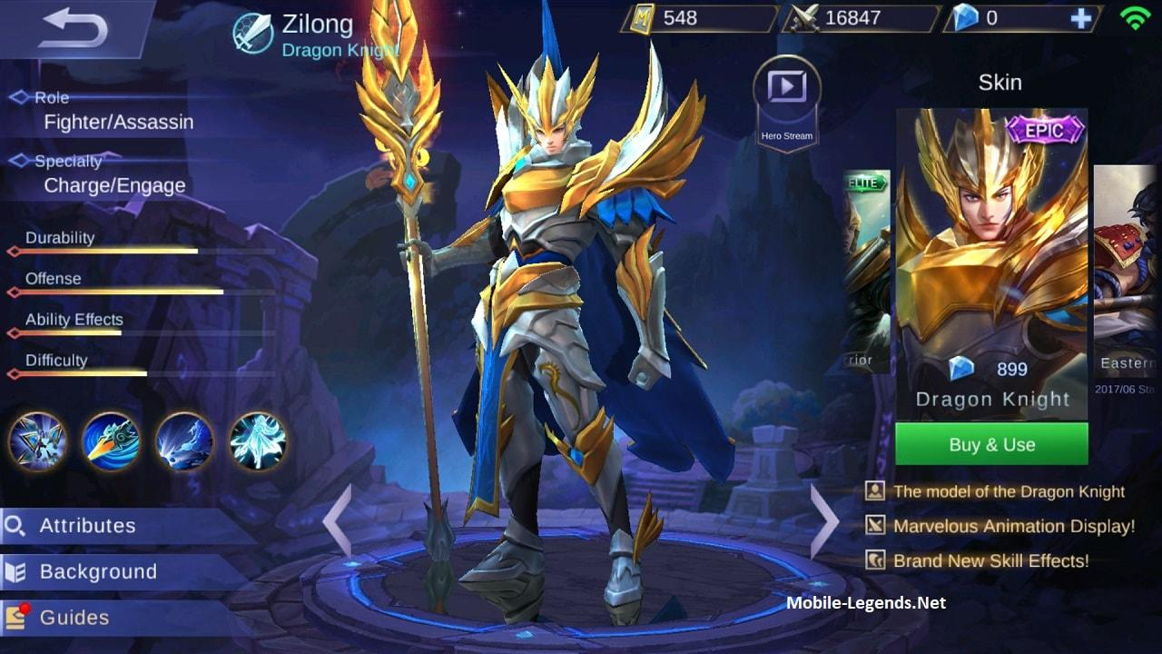 Zilong Gear Guide and Tips [Detailed] 2019 - Mobile Legends