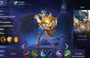 Freya Burst Damage Build