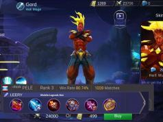 Mobile Legends Gord Leery Build