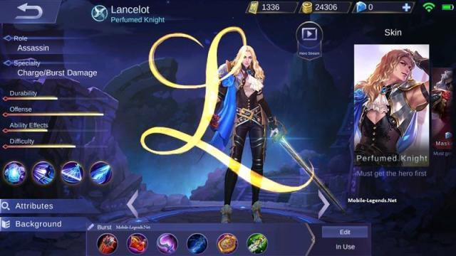 Lancelot Best Assassin Build