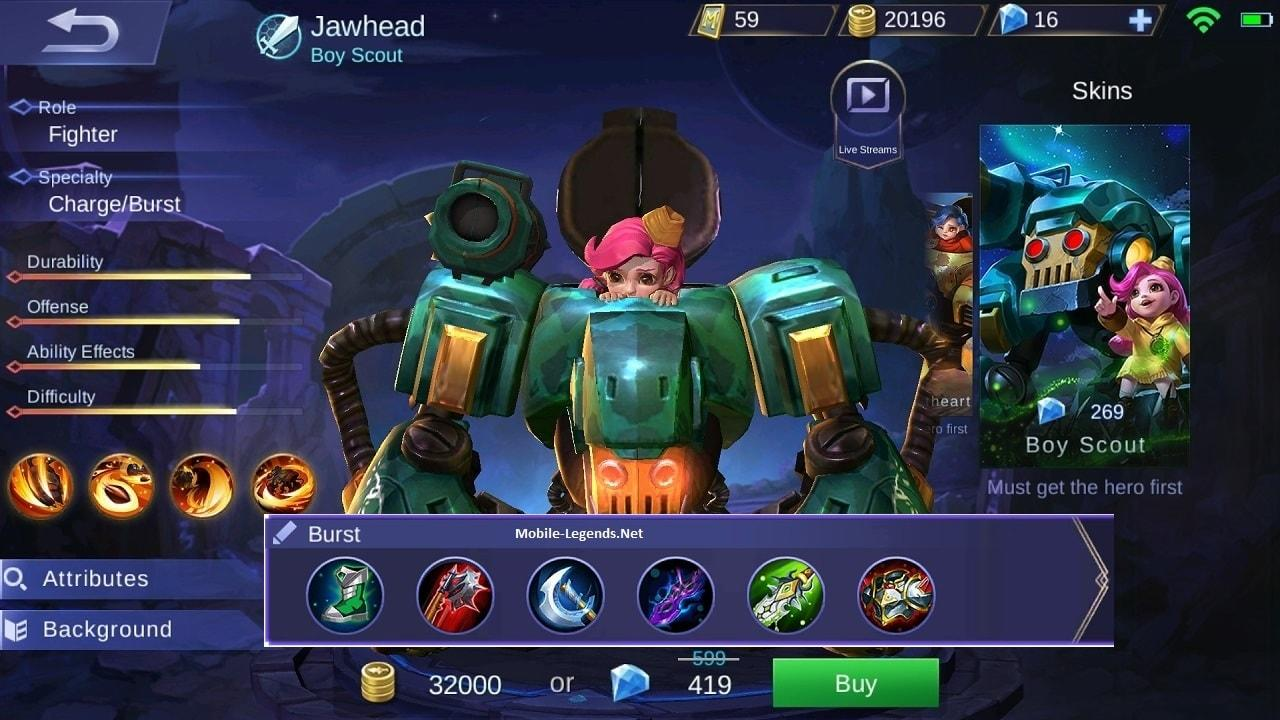 How To Use Build In Mobile Legends