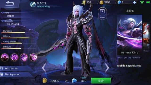 Martis-Ashura-King