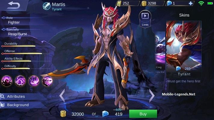 Martis-Tyrant