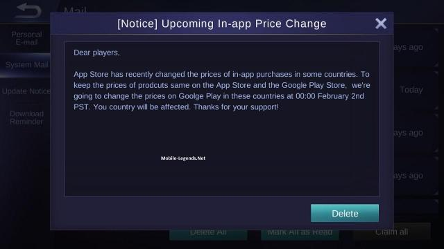 Mobile-Legends-Upcoming-In-app-Price-Change
